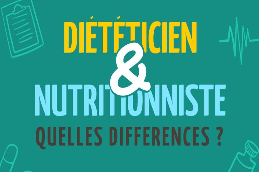 Comparez les différeComparez les différences entre diététicien et nutritionniste : lequel choisir ?nces entre diététicien et nutritionniste